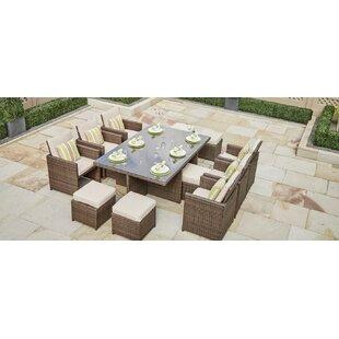 Modern Wicker Rattan Outdoor Dining Sets Allmodern