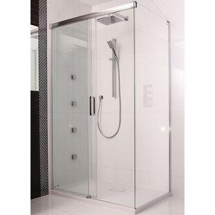 Etty 200 x 120cm Sliding Shower Door by Belfry Bathroom