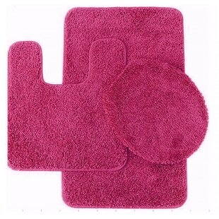 Pink Bathroom Rug Sets | Wayfair