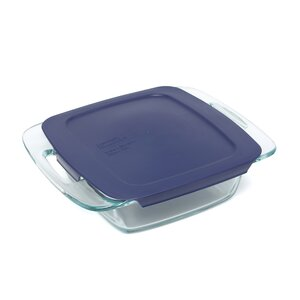 Easy Grab Square Baking Dish with Cover