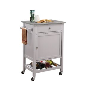 Chelmsford Kitchen Cart by Red Barrel Stu..