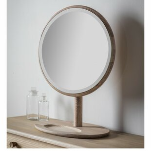 Adame Round Dressing Table Mirror