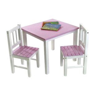 Save  sc 1 st  Wayfair : pink table and chair set - pezcame.com