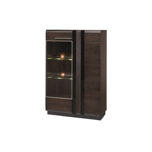 Dashrath Lighted China Cabinet Amazing