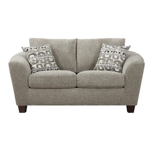 Natalya Contemporary Loveseat by Zipcode Des..