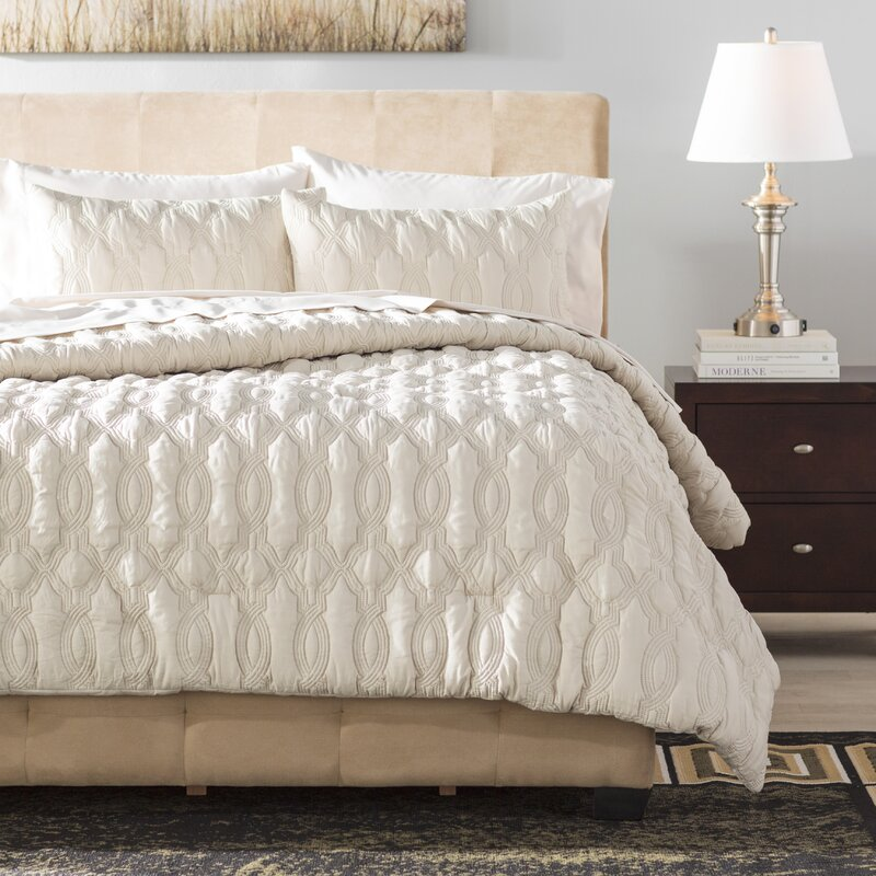 Niagara Embossed  Piece Bed In A Bag Set