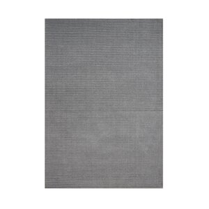 Blackfoot Hand-Tufted Silver Area Rug