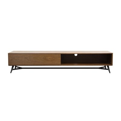 Modern Amp Contemporary Low Profile Tv Stand Allmodern