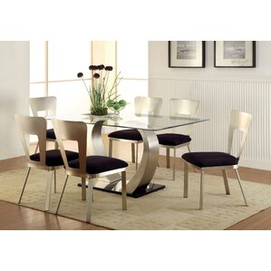 Briles 7 Piece Dining Set by Hokku Designs