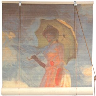 bamboo window blinds. Girl With A Parasol Bamboo Roller Blind Window Blinds O