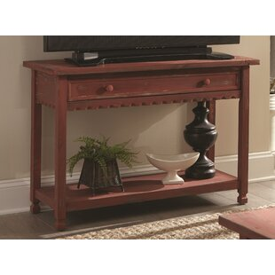 red console tables you ll love in 2019 wayfair rh wayfair com red cedar sofa table red cedar sofa table