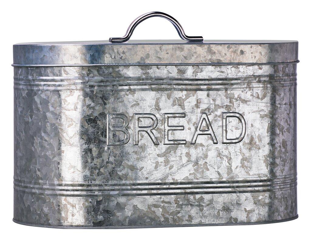 amici galvanized bread canister global amici amici galvanized bread canister  u0026 reviews   wayfair  rh   wayfair