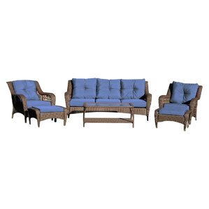 6piece amy patio seating group