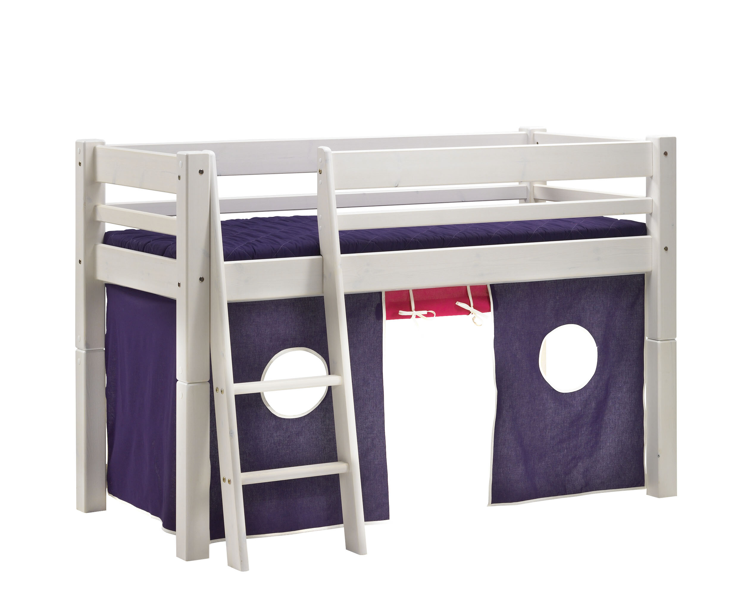 Etagenbett Wayfair : Scanliving hochbett mojo junior 70 x 160 cm & bewertungen wayfair.de