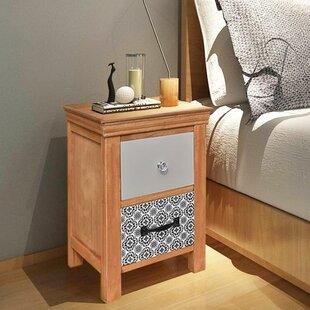Agar 2 Drawer Bedside Table (Set of 2) & Set Of 2 Bedside Tables   Wayfair.co.uk