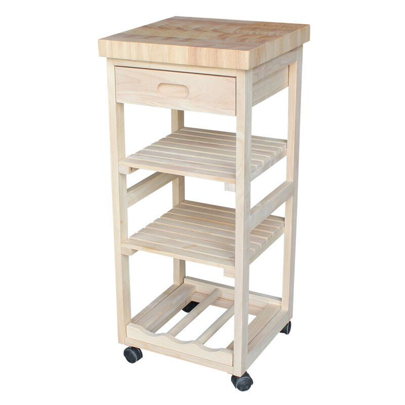 International Concepts Kitchen Cart & Reviews | Wayfair