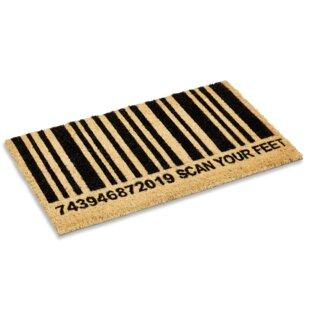 Scan Your Feet Doormat
