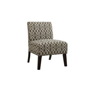 Rhee Dorris Fabric Parsons Chair by Varick Gallery