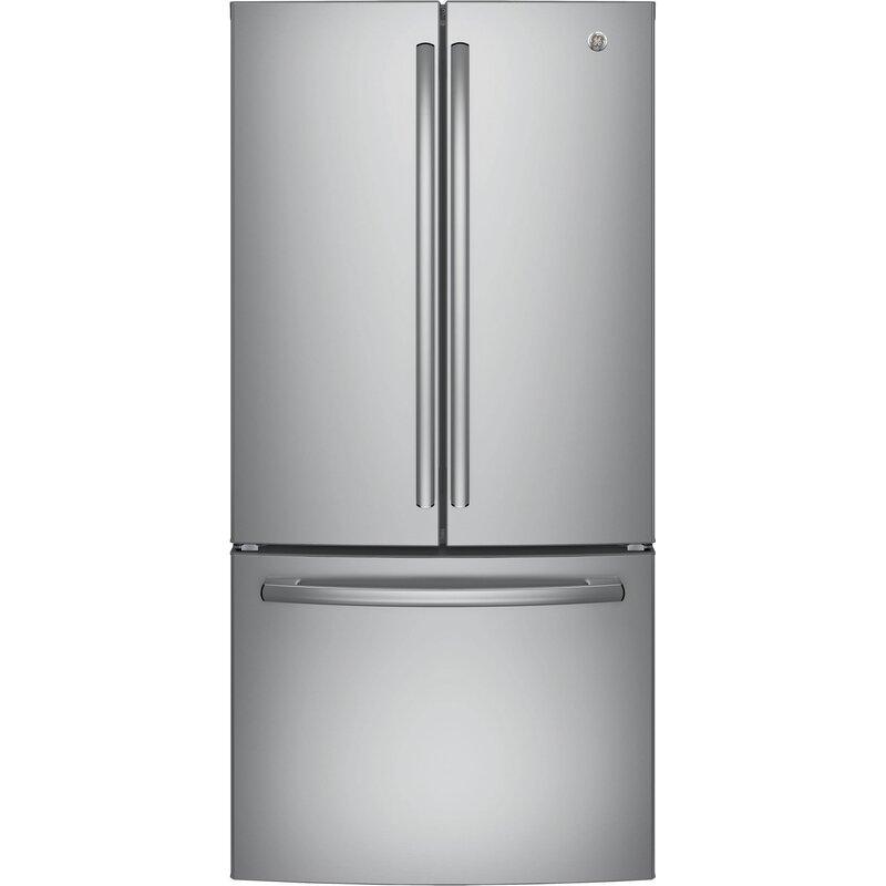 Ge Appliances 24 8 Cu Ft Energy Star French Door Refrigerator