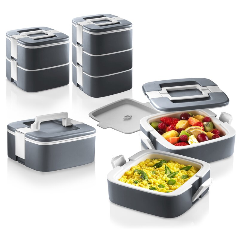 ThermoMax Stackable Food Storage Container  sc 1 st  Wayfair & Ozeri ThermoMax Stackable Food Storage Container u0026 Reviews   Wayfair