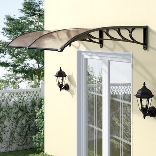 Exceptionnel Over The Door Awning | Wayfair