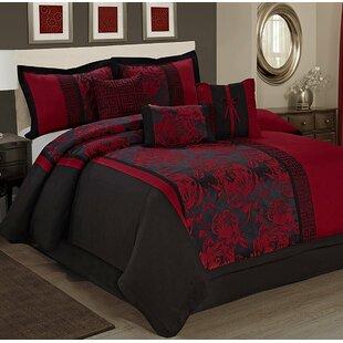 Peony 7 Piece Comforter Set