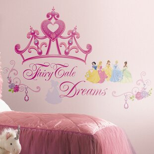 Deco Disney Princess Crown Giant Wall Decal & Princess Crown Wall Canopy | Wayfair