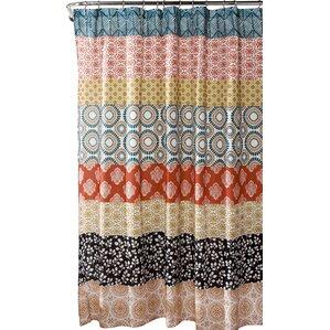 Orange Shower Curtains Youll Love Wayfair - Gray and orange shower curtain