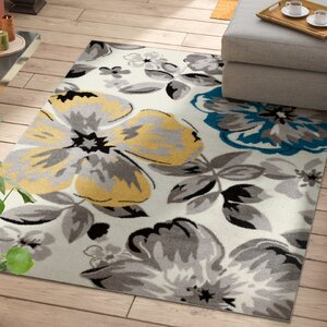 Regner Cream/Gray Area Rug