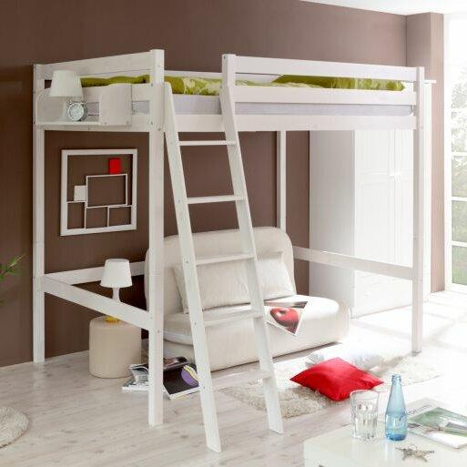 ticaa hochbett matthias mit schr gleiter 140 x 200 cm. Black Bedroom Furniture Sets. Home Design Ideas