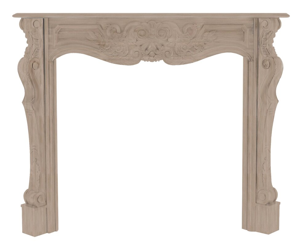 pearl mantels the deauville fireplace mantel surround u0026 reviews