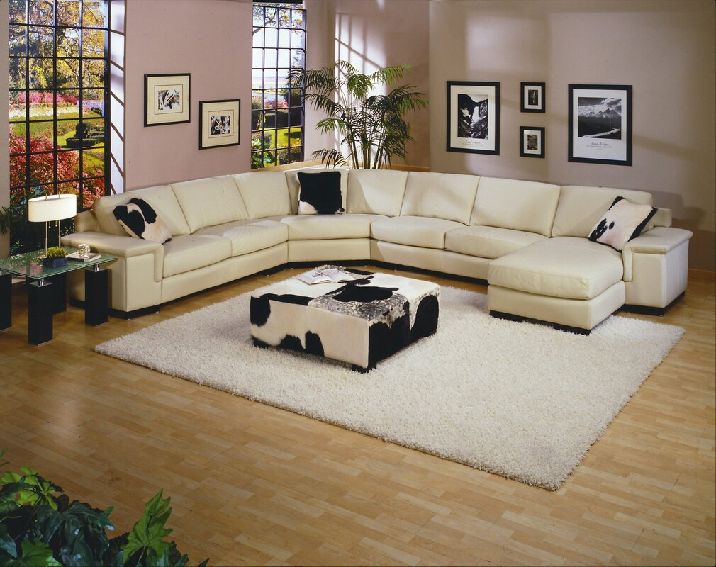 Mercedes Leather Sectional : lether sectional - Sectionals, Sofas & Couches