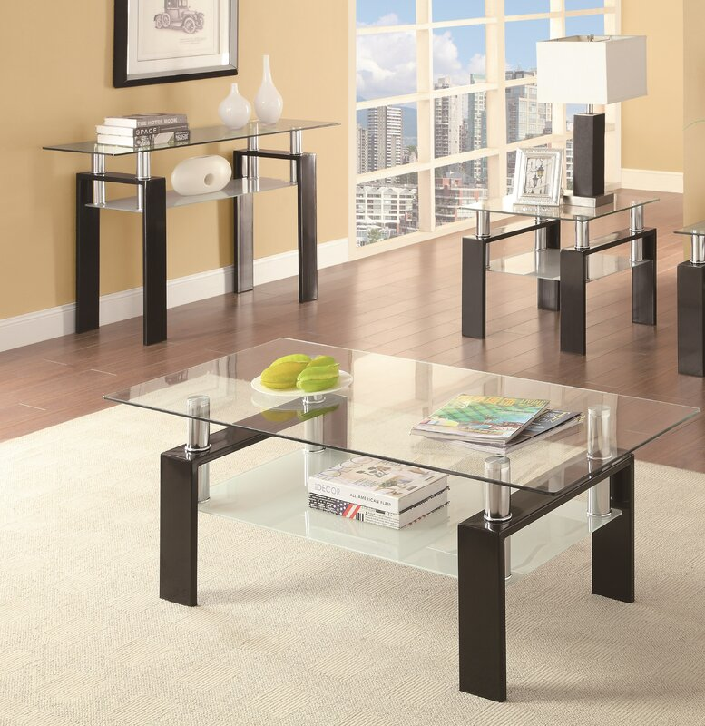 Zipcode Design Tiffany Piece Coffee Table Set Reviews Wayfair