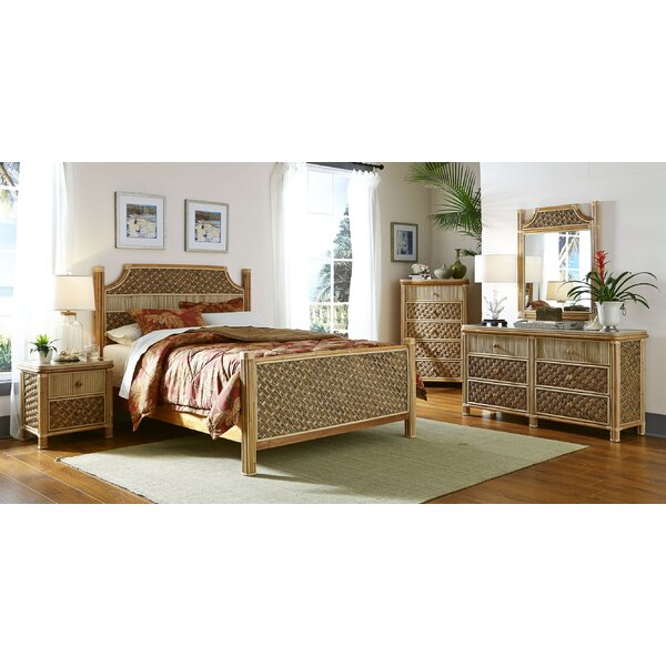 Spice Islands Mandalay Panel 5 Piece Bedroom Set & Reviews | Wayfair