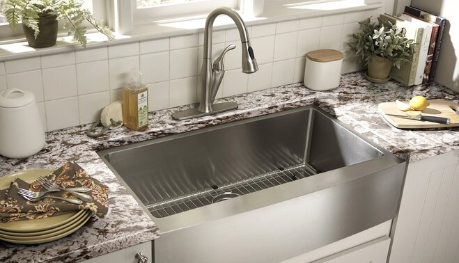 sink styles kitchen guide to kitchen sink styles wayfair 2279