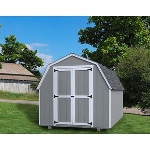 Value Gambrel Solid Wood Storage Shed
