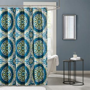almerton printed shower curtain