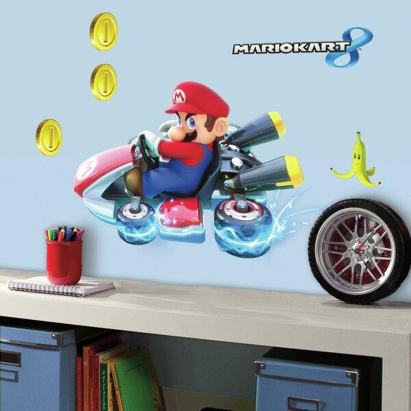 Room Mates Popular Characters Mario Kart 8 Wall Decal
