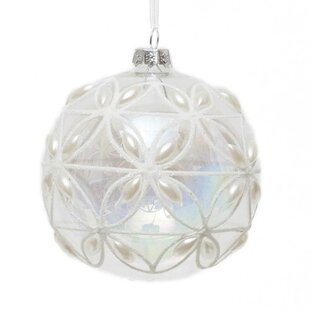 ball with pearl ornament set of 3