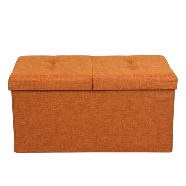 Best Price Quality Smart Lift Top Upholstered Storage Ottoman Reviews Wayfair