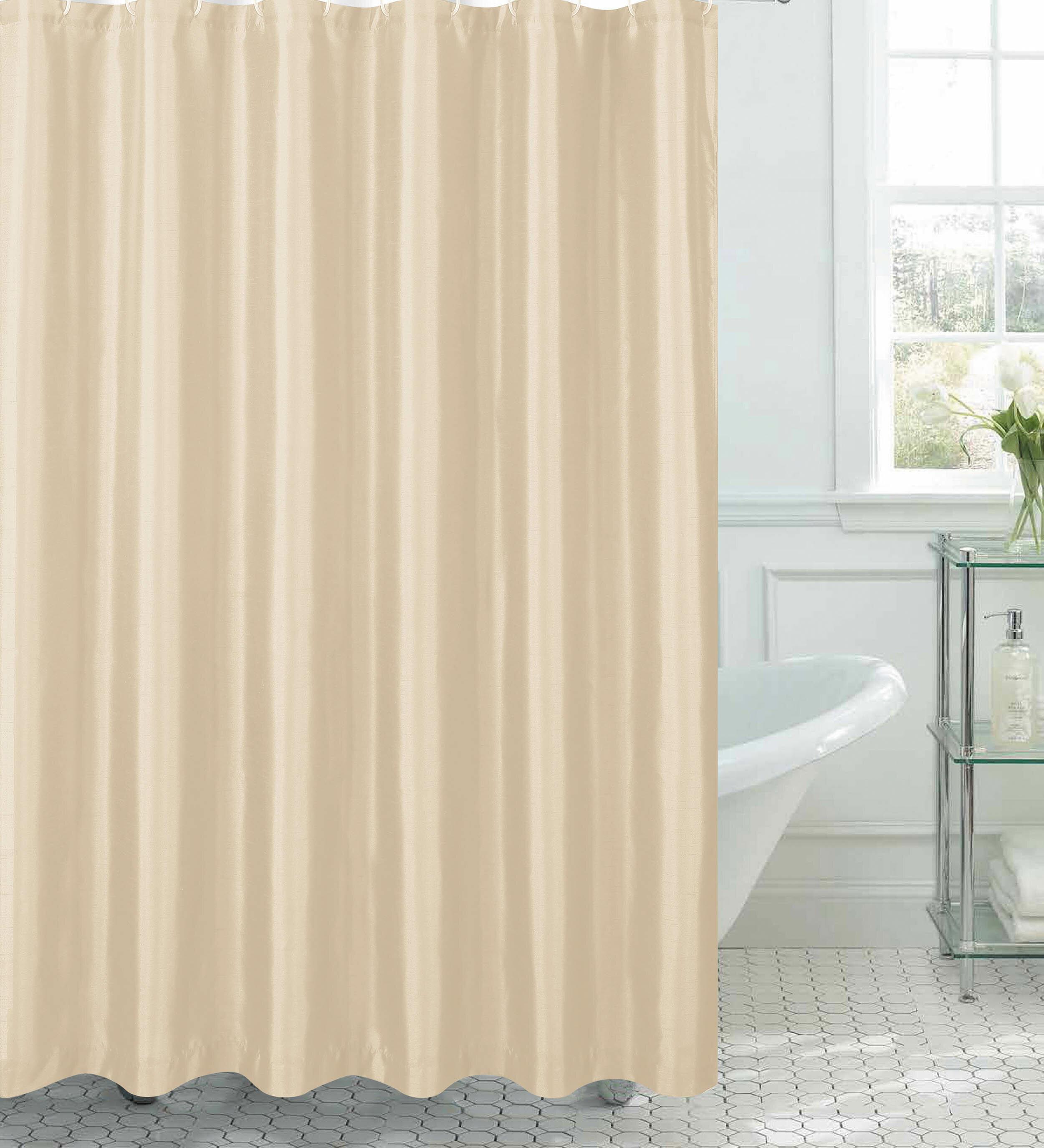 Willa Arlo Interiors Samar Faux Silk Shower Curtain Set Reviews