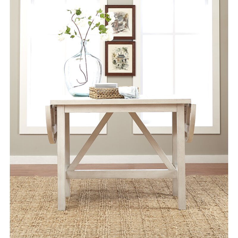 Trisha Yearwood Home Monroe Counter Height Drop Leaf Dining Table