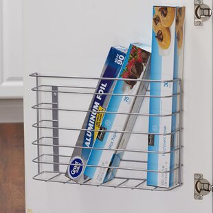 Chrome Kitchen Cabinet Door Organizer