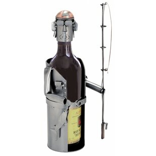 Fisherman 1 Bottle Tabletop Wine Rack