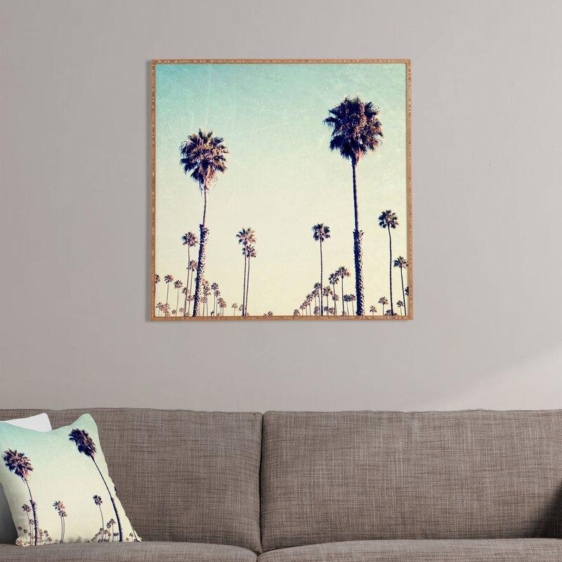 California Palm Trees Framed Wall Art Joss Main