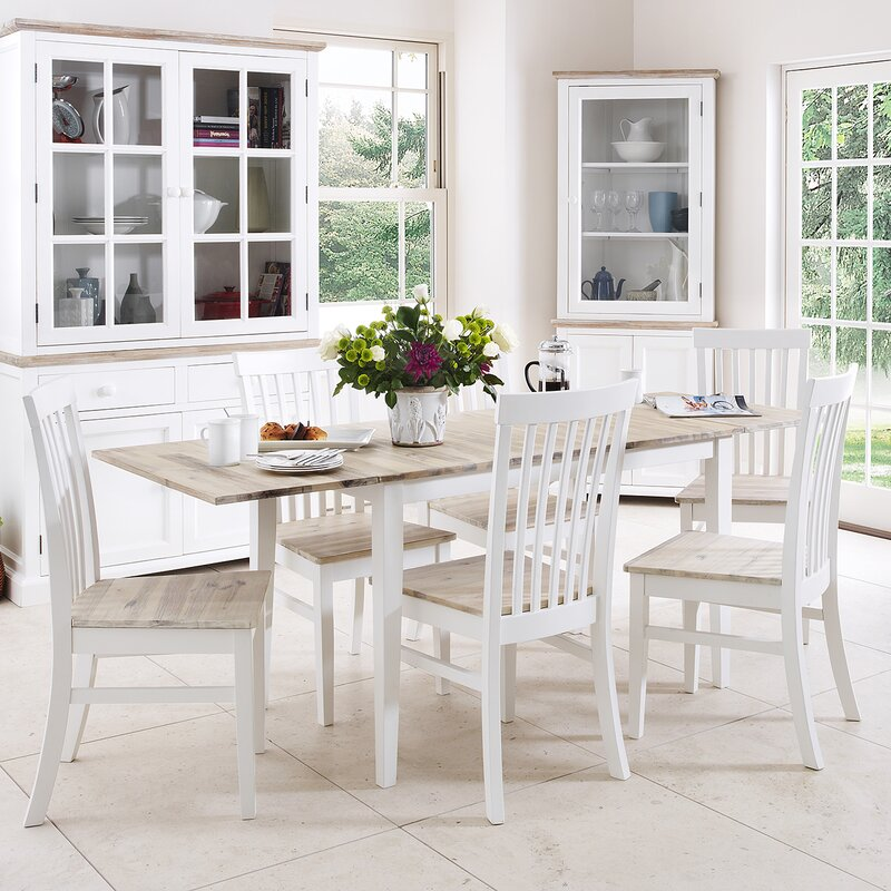 Breakwater Bay Chatham Dining Table And 6 Chairs Wayfair