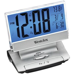 Electric LCD Display USB Charging Alarm Tabletop Clock