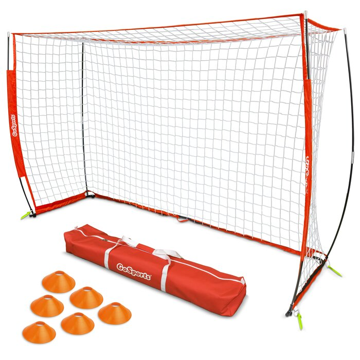 7de0c2918 GoSports Elite Futsal Goal 8 Piece Soccer Equipment Set | Wayfair