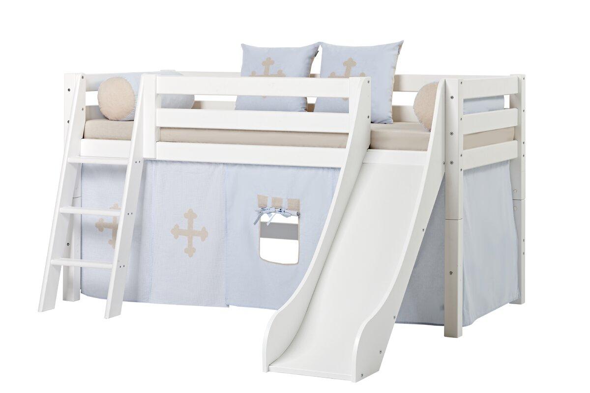 hoppekids hochbett premium mit schr ger leiter bewertungen. Black Bedroom Furniture Sets. Home Design Ideas