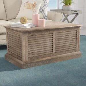 Adreanna Louvered Coffee Table Trunk